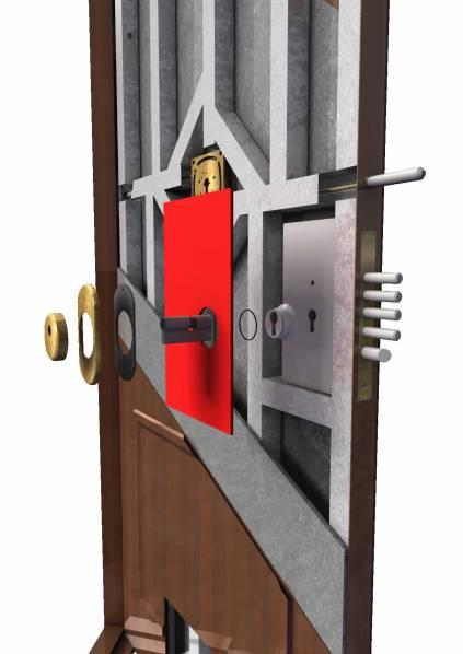 Puerta acorazada vulcano roconsa - Precio puerta blindada ...