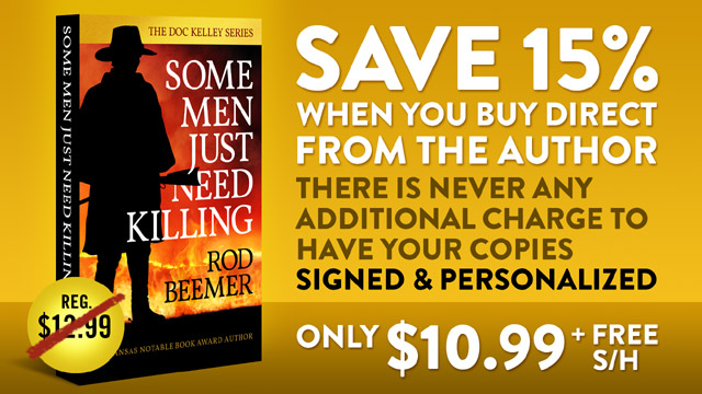 Save 15% when you order SOME MEN JUST NEED KILLING direct from the author