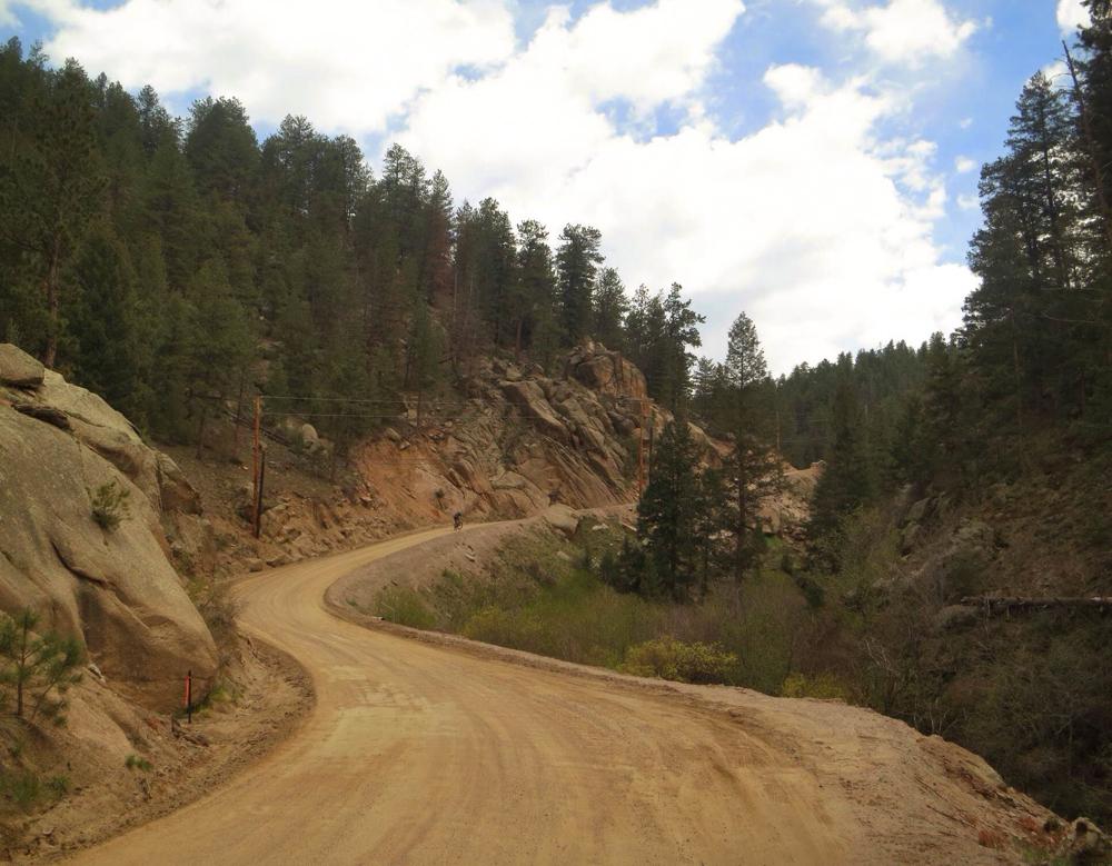 "Pine Creek Road, the ""Killer"". Photo Credit - Matt Deviney"