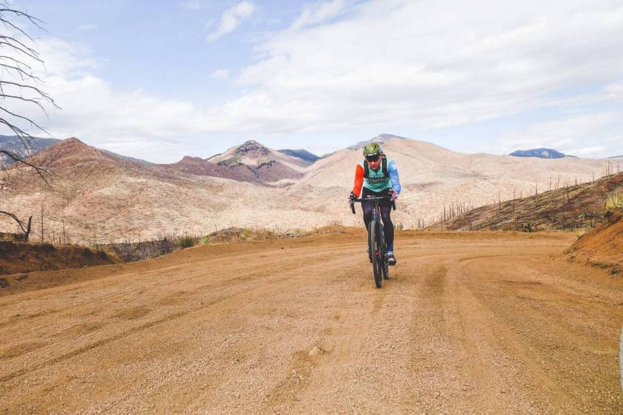 The loop features 5k feet of climbing. Take your time and enjoy it.
