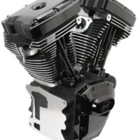 S&S T143 Black Edition Engine