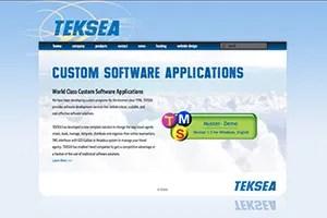 TEKSEA Custom Software Applications