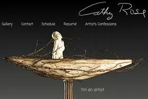 Cathy Rose Porcelin Sculpture