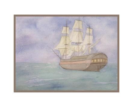 ship print