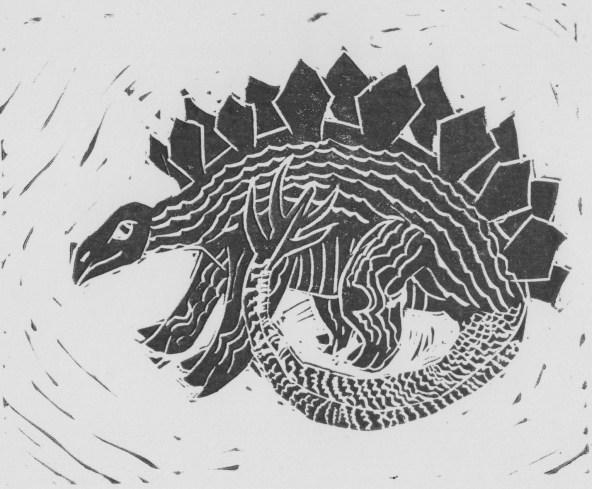 stegosaurus print 001