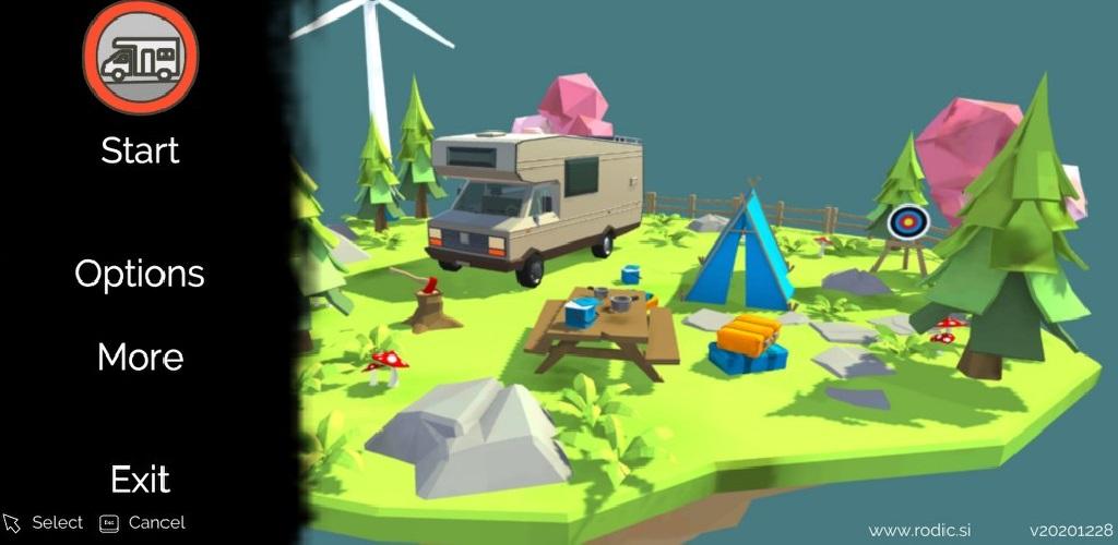 SIMPLE LEVELER camper leveling system