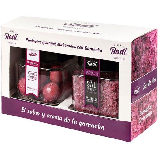 Rodi Gourmet sal de garnacha y garnachicos - mazapán de vino