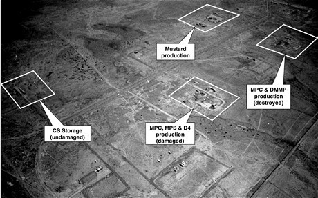 The Al Mutannah chemical weapons complex (CIA)