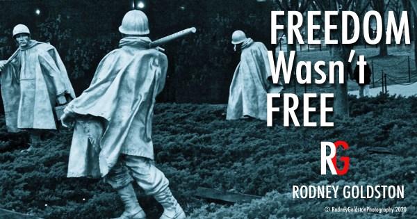 Rodney Goldston freedom wasn't free