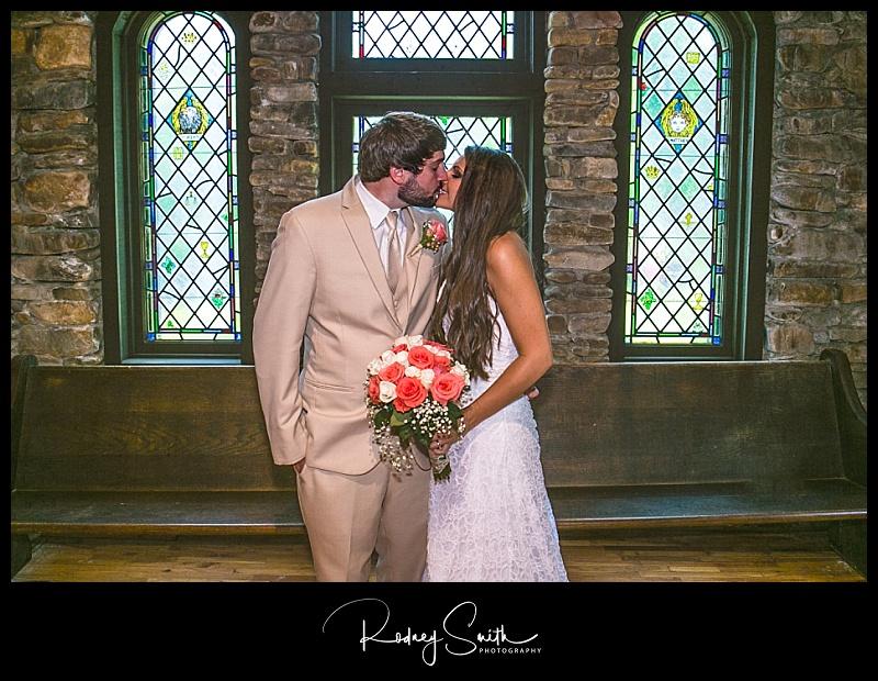 Crossnore Presbyterian Church, Kiley Webb Dellinger, Thomas Dellinger, Rodney Smith Photography, wedding, summer, woods