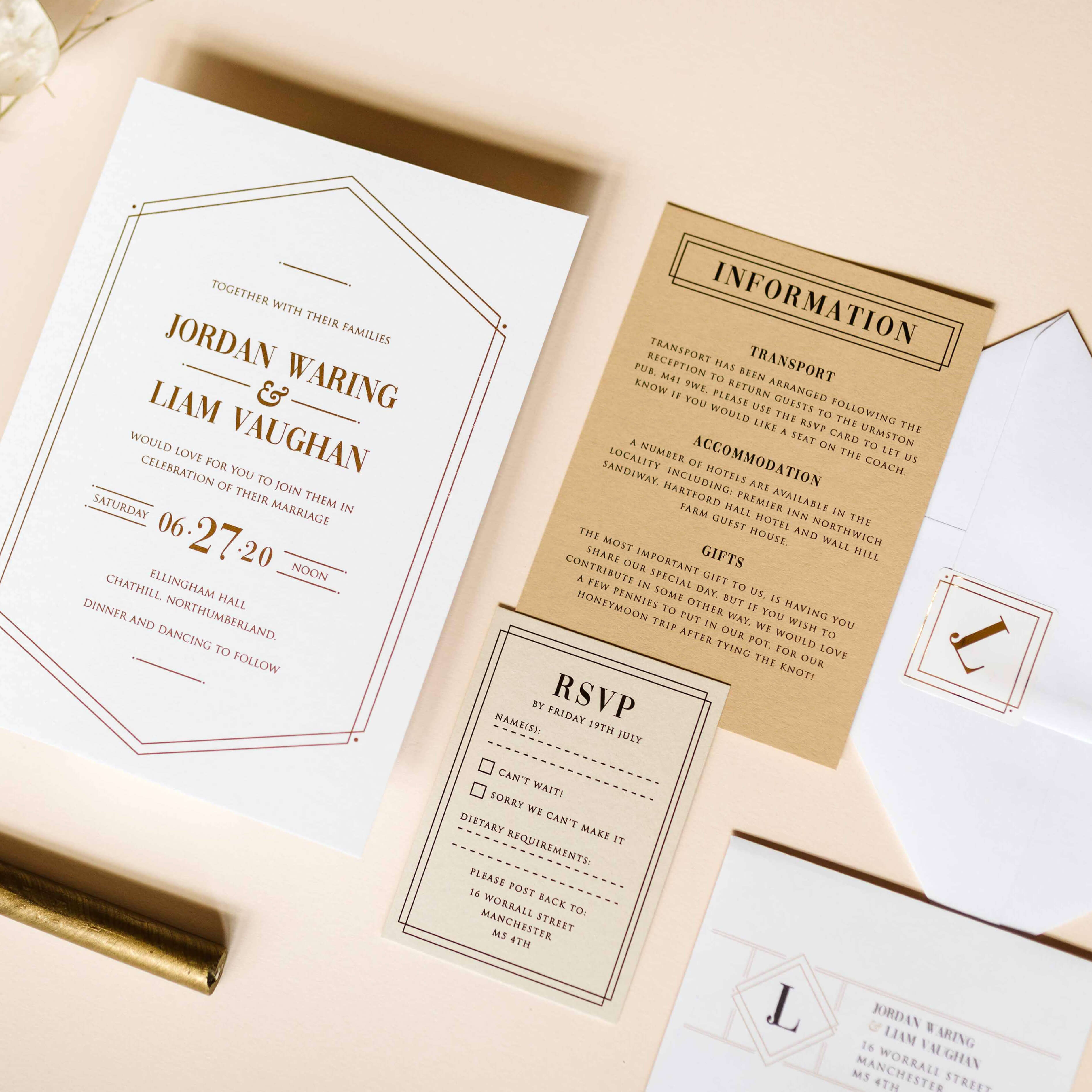 gift poems for your wedding invitations