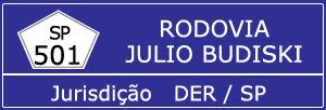 Rodovia Julio Budiski SP 501