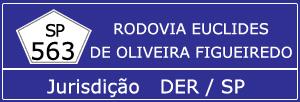 Câmeras Rodovia Euclides de Oliveira Figueiredo SP 563