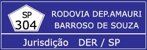 Trânsito Agora na Rodovia Deputado Amauri Barroso de Souza SP 304