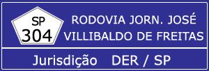 Trânsito Agora na Rodovia Jornalista José Villibaldo de Freitas SP 304