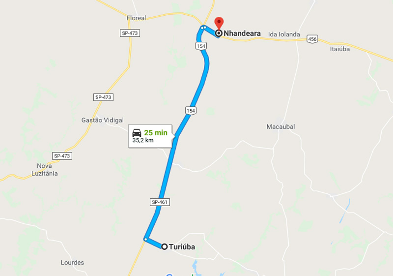 Trânsito Agora na Rodovia Doutor Otaviano Cardoso Filho SP 461