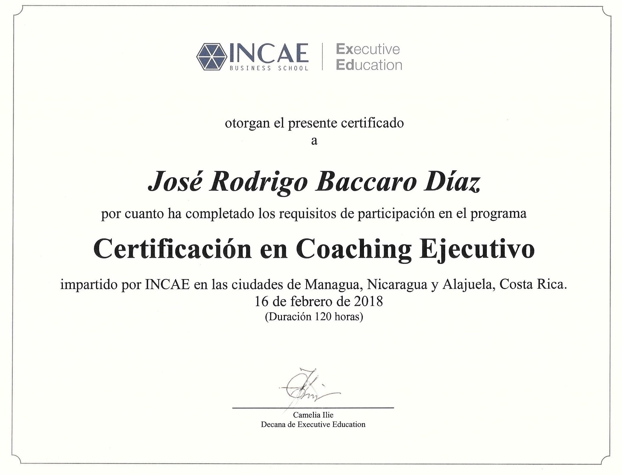 INCAE Coach