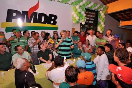 Pau_dos_Ferros_-_Garibaldi_discursando_no_encontro_regional_do_PMDB
