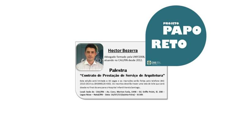1PROJETO_PAPO_RETO_ABORDA_CONTRATOS_DE_PRESTAO_DE_SERVIO_DE_ARQUITETURA