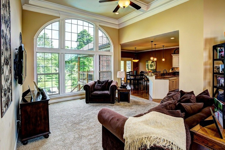 Photo of clean window in home, clean by our specialist