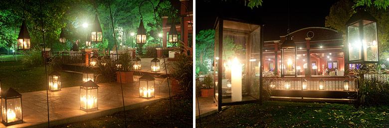Nocturnas del exterior Santa Lucia