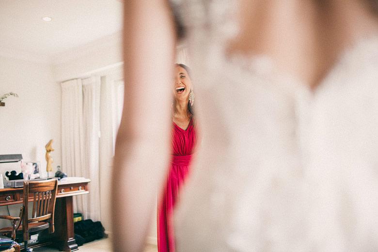 Backstage foto casamiento