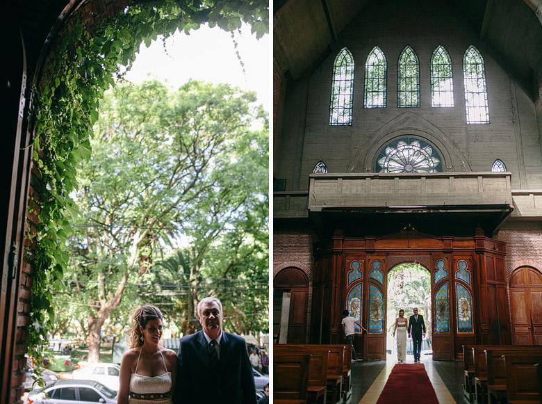 Entrada de la novia Parroquia Jesus en el Huerto de los Olivos