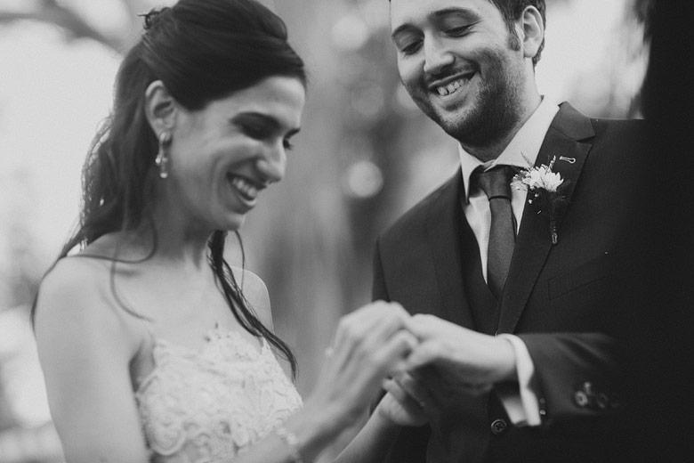 Fotografia espontánea de casamiento Argentina