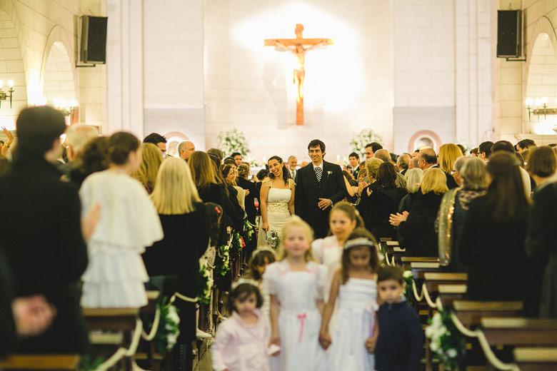 Fotografia de boda en la Parroquia Santa Elena, Buenos Aires