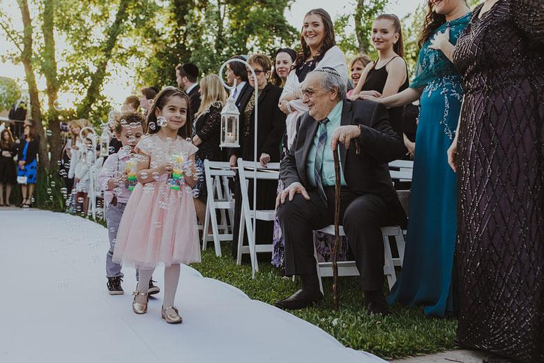 ceremonia judia de casamiento
