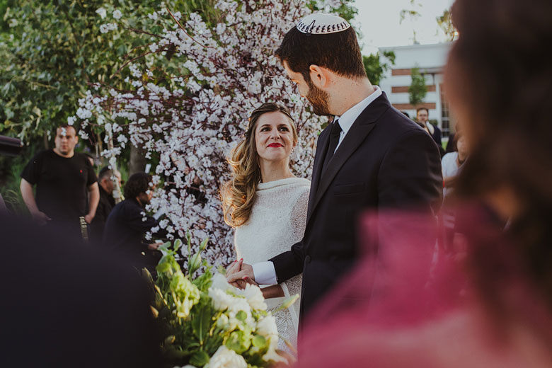 ceremonia judia de boda