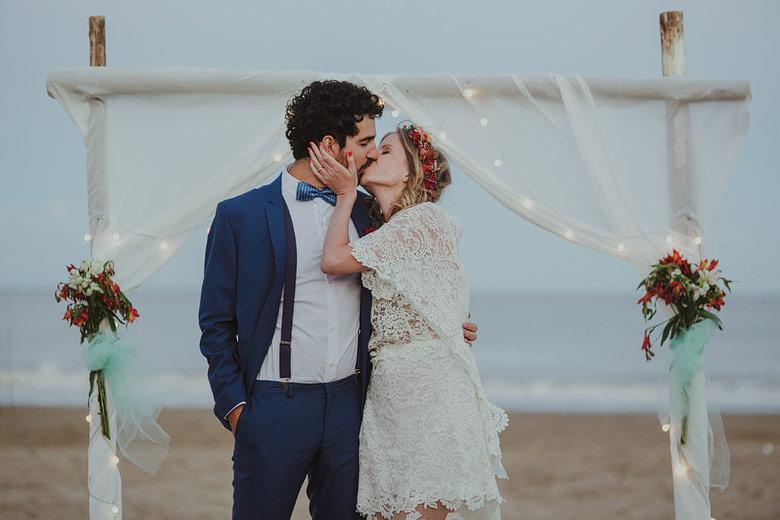 casamientos en la playa argentina