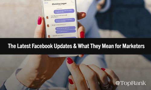 Latest Facebook Updates 2018