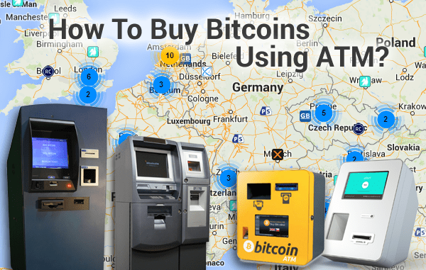 How to Buy Bitcoins using a ATM
