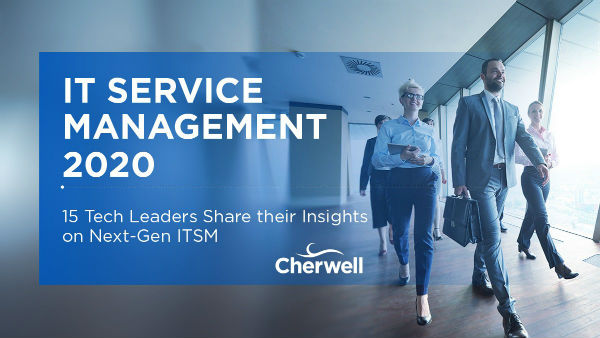 Cherwell Software Influencer Marketing Example