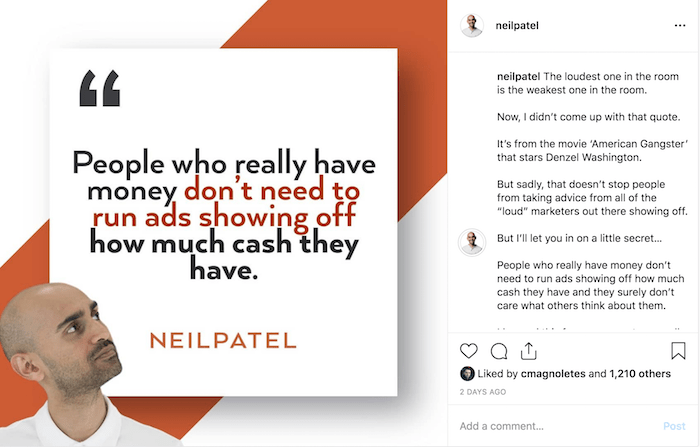 neil patel quote