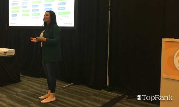Ashley Zeckman Presents at CMWorld 2019