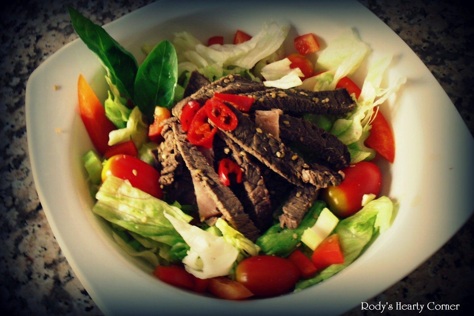 Irish beef salad