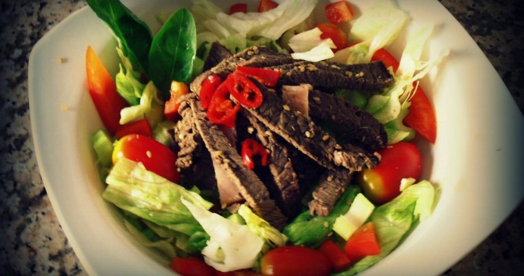 Irish beef salad