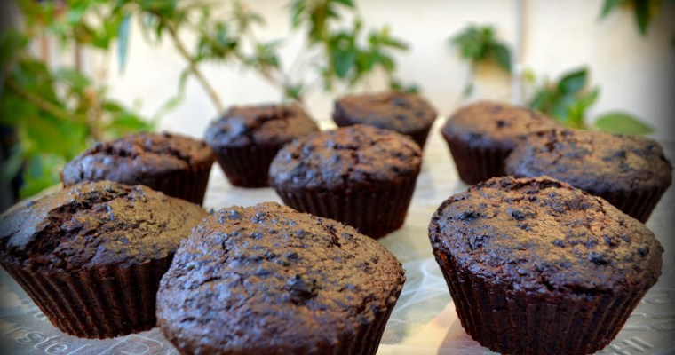 Chocolate Beetroot Muffins