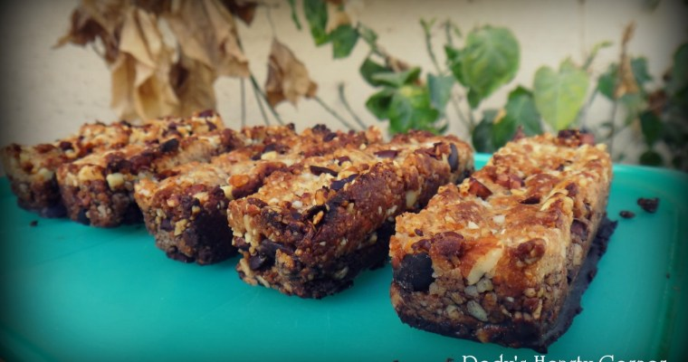 Nut Bars with Cocoa Nibs