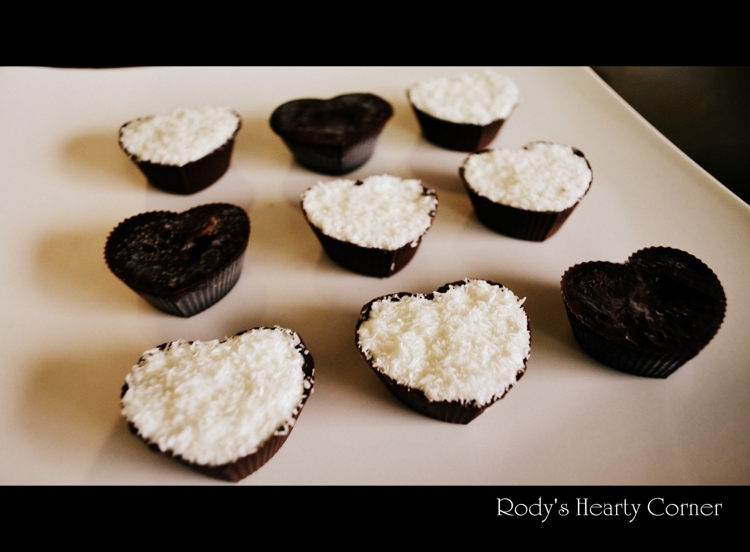 Bounty Coconut Hearts