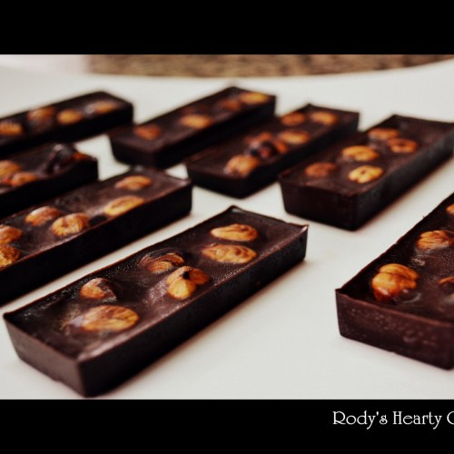 Homemade Hazelnut Chocolates
