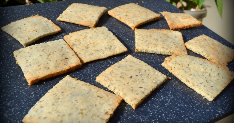 Olive Oil Herb Crackers