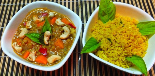 Massaman Lentil Curry (Vegan)