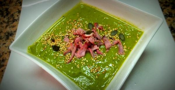 Leek, Broccoli & Bacon Soup