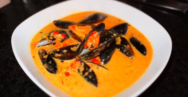 My Thai Mussel Bisque