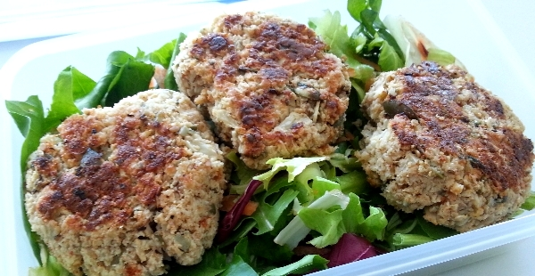 Cauliflower Veggie Patties