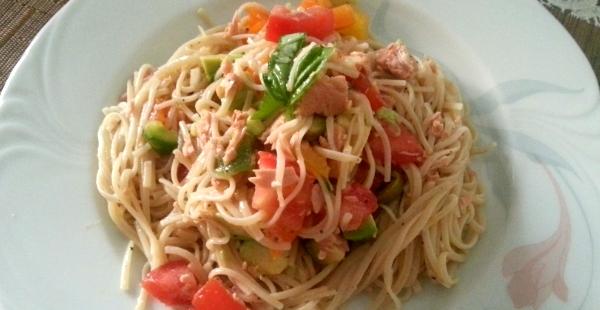 Easy 'Pasta' Salad
