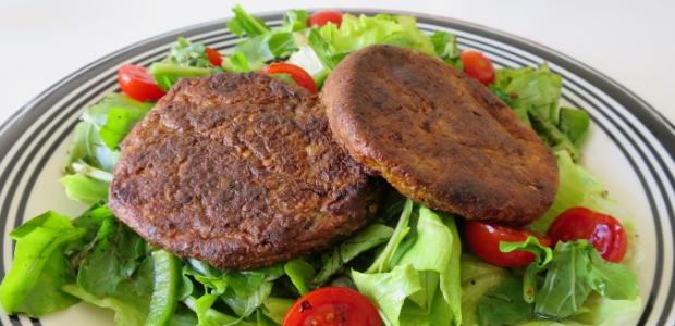 Aubergine Burgers (vegetarian)